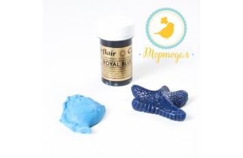 Краситель пастообразный SugarFlair Royal Blue королевский синий