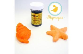 Краситель пастообразный SugarFlair Tangerine/Apricot мандарин
