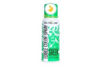 Спрей краситель Зеленый 42 г Chefmaster