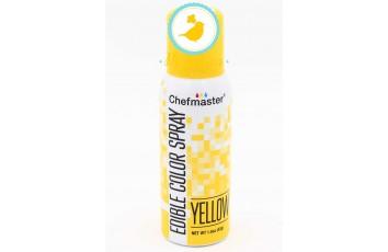 Спрей краситель Желтый 42 г Chefmaster