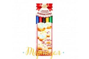Фломастеры пищевые Парфэ 5 пастельных цветов