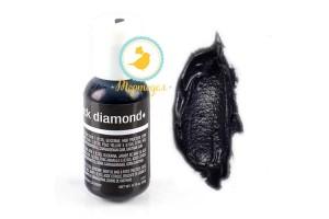 Гелевый краситель Chefmaster Liqua-Gel Black Diamond (Черный брилиант)21 г.