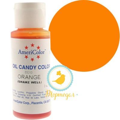 Краситель для шоколада  AmeriColor Orange  (оранжевый) 56 гр.Купить в Киеве,Харькове и Украине по лучшей цене в интернет магазине Тортодел