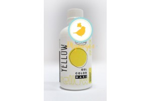 Краситель гелевый Criamo Maxi Желтый /Yellow 125г.