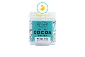 Краситель какао масло Criamo Бирюзовый (Turquoise) 160 г