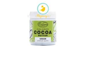 Краситель какао масло Criamo Зеленый (Green) 160 г