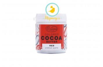 Краситель какао масло Criamo Красный (Red) 160 г