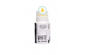 Краситель гелевый Criamo Белый / White 10г.