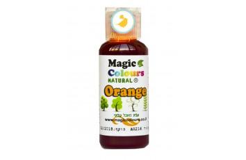Натуральный краситель  Magic Colours (Мэджик Колорс) Естественные оттенки (Natural Food Colours) 32 гр  - Оранжевый (Orange)