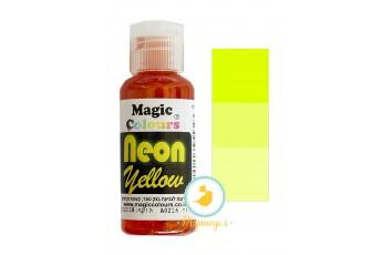 Неоновый универсальный краситель Magic Colours NEON (Мэджик Колорс НЕОН ) 32 гр - Неоновый Желтый (NEON Yellow)