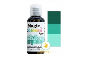 Гелевый краситель Magic Colours Pro(Мэджик Колорс Про) 32 гр - Бирюзовый (Turquoise)