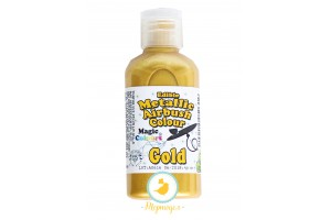 Краситель  Золотой (Gold) для аэрографа металлик Magic Colours - Metallic Airbrush (Металлик Эйрбраш)- 55мл