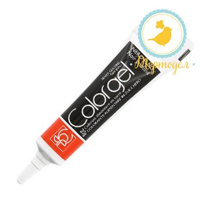 Краситель Modecor Color Gel черный. Купить в Киеве,Харькове и Украине. Цена в интернет магазине Тортодел