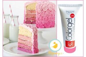 Краситель Modecor Color Gel  100 г розовый