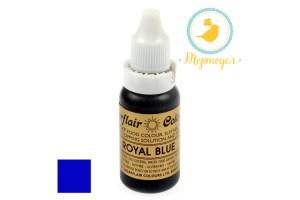 Краситель гелевый SugarFlair ROYAL BLUE Королевский синий 14г.