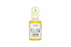 Краситель для аэрографа металлик Criamo Airbush Shimmer Желтый / Yellow 60 г.