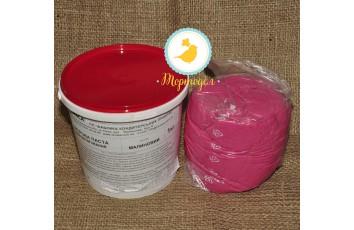 Мастика кондитерская Украса малиновая 1 кг