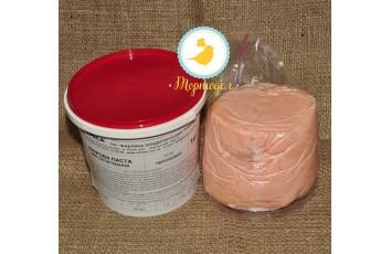 Мастика кондитерская Украса персиковая 1 кг