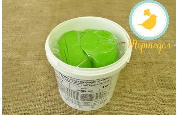 Мастика кондитерская Украса зеленая 1 кг