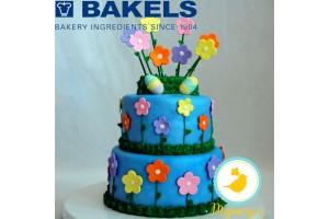 Мастика Bakels Pettinice (Голубая) 0,2 кг