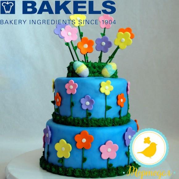 Мастика Bakels Pettinice (Голубая) 1 кг