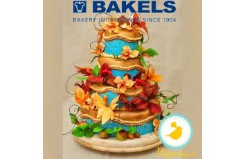 Мастика Bakels цветочная сахарная паста 0,5 кг
