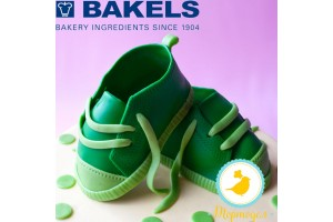 Мастика Bakels Pettinice (Зеленая) 0,2 кг