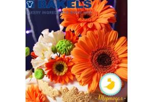 Мастика Bakels Pettinice (Оранжевая) 0,2 кг