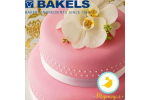 Мастика Bakels Pettinice (Розовая) 0,2 кг