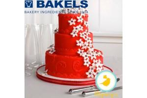 Мастика Bakels Pettinice (Красная) 0,2 кг