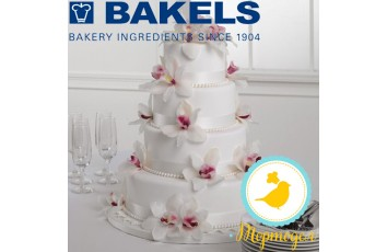Мастика Bakels Pettinice (Белая) 5 кг