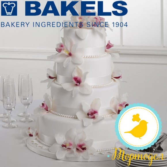 Мастика Bakels Pettinice (Белая) 1 кг