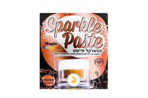 Паста-блеск для декора Бронзовый (Bronze) Magic Colours(Мэджик Колорс)с металлическим оттенком Sparkle Paste(Спаркл Пэйст)-8г