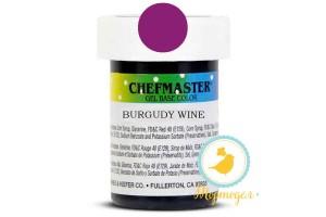 Пастообразный краситель Chefmaster Gel Base Color Wine (бордовый) 28,35 г.