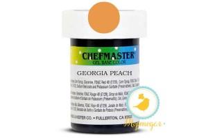 Пастообразный краситель Chefmaster Gel Base Color Georgia Peach (персик) 28,35 г.
