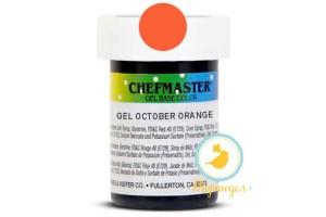 Пастообразный краситель Chefmaster Gel Base Color Sunset Orange (оранжевый) 28,35 г.