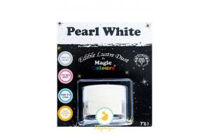 Блестящая пыльца Чистый Белый(Pearl White) Magic Colours Lustre Dust(Мэджик Колорс Ластэ Даст) 7 мл