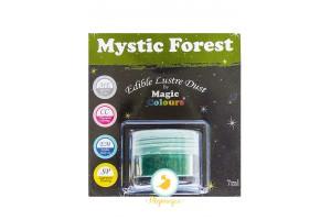 Блестящая пыльца Зеленый (Mystic Forest) Magic Colours Lustre Dust(Мэджик Колорс Ластэ Даст) 7 мл