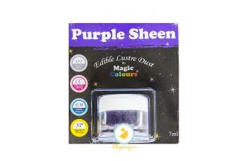Блестящая пыльца  Фиолетовый (Purple Sheen)  Magic Colours Lustre Dust(Мэджик Колорс Ластэ Даст) 7 мл