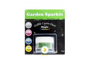 Блестящая пыльца  Зеленый Светлый (Garden Sparkle) Magic Colours Lustre Dust(Мэджик Колорс Ластэ Даст) 7 мл