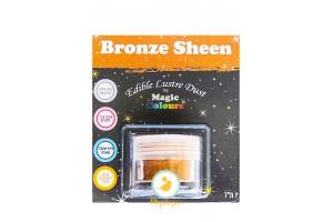 Блестящая пыльца Бронзовое Сияние (Bronze Sheen) Magic Colours Lustre Dust(Мэджик Колорс Ластэ Даст) 7 мл