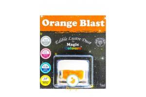 Блестящая пыльца Оранжевый (Orange Blast) Magic Colours Lustre Dust(Мэджик Колорс Ластэ Даст) 7 мл