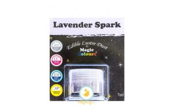 Блестящая пыльца Лавандовый (lavender Spark)  Magic Colours Lustre Dust(Мэджик Колорс Ластэ Даст) 7 мл