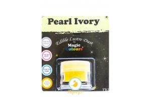 Блестящая пыльца Слоновая кость (Pearl Ivory)Magic Colours Lustre Dust(Мэджик Колорс Ластэ Даст) 7 мл