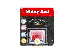 Блестящая пыльца Красный ( Shiny Red) Magic Colours Lustre Dust(Мэджик Колорс Ластэ Даст) 7 мл