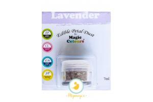 Пыльца для декора  Лавандовый (Lavender) Magic Colours Petal Dust(Мэджик Колорс Петл Даст )