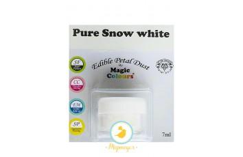 Пыльца для декора Белоснежно-белый (Pure Snow White)  Magic Colours Petal Dust(Мэджик Колорс Петл Даст )
