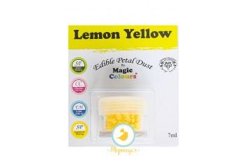 Пыльца для декора Лимонный (Lemon Yellow) Magic Colours Petal Dust(Мэджик Колорс Петл Даст )