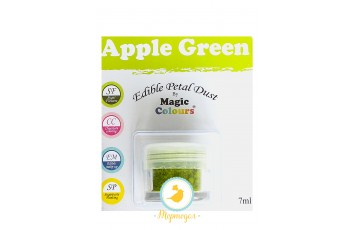 Пыльца для декора Зеленое яблоко (Apple Green) Magic Colours Petal Dust(Мэджик Колорс Петл Даст )