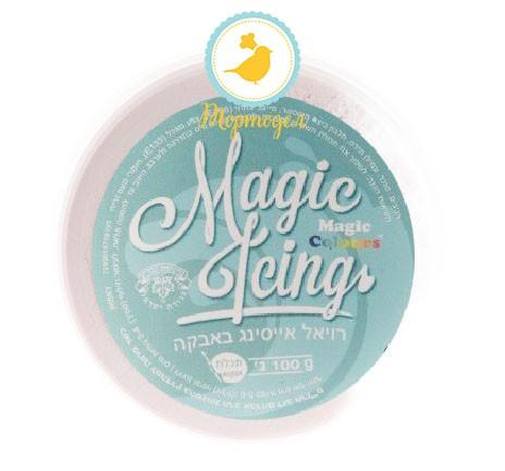 Айсинг аквамарин ( Magic Icing - Aqua ) 100 г. Купить в Киеве и Украине по лучшей цене в интернет магазине Тортодел.